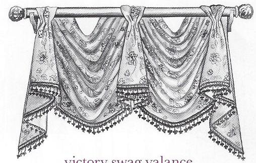 Victory Swag Valance
